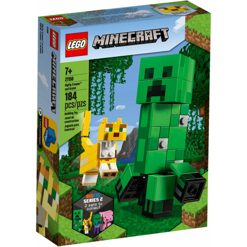 Lego 21156 Minecraft BigFig Creeper™ and Ocelot