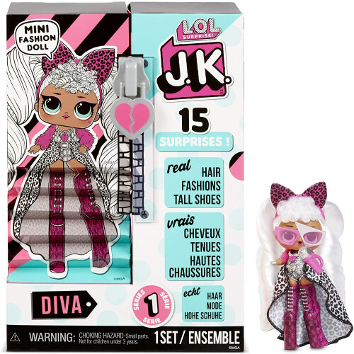LOL Surprise! JK Mini Fashion Doll Diva