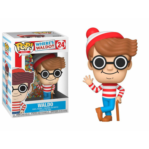 Funko Pop Vinyl - Where's Waldo? - Waldo