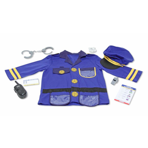 Melissa & Doug Role Play Costume - Police Officer