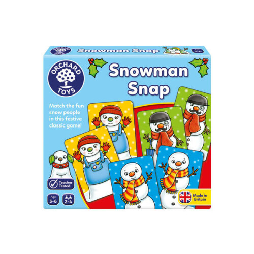 Orchard Mini Game Snowman Snap
