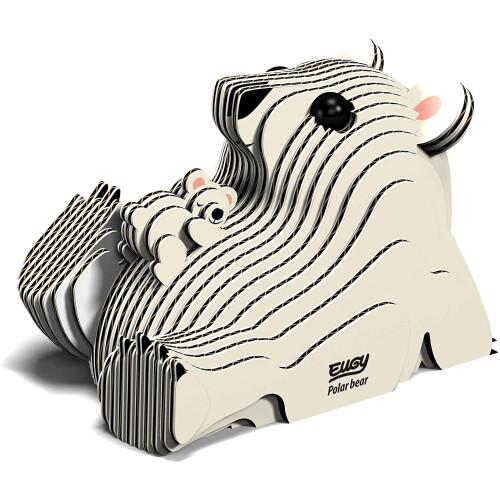 Eugy - 3D Model Craft Kit - Polar Bear