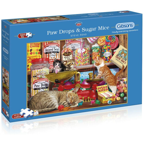 Gibsons Paw Drops & Sugar Mice 500pc XL