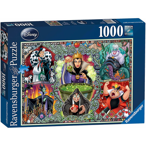 Ravensburger Disney 1000pc Puzzle Wicked Women