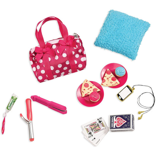 Our Generation Accessories Polka Dot Sleepover Set