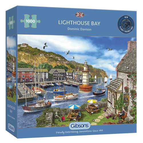 Gibsons Lighthouse Bay 1000pc Puzzle