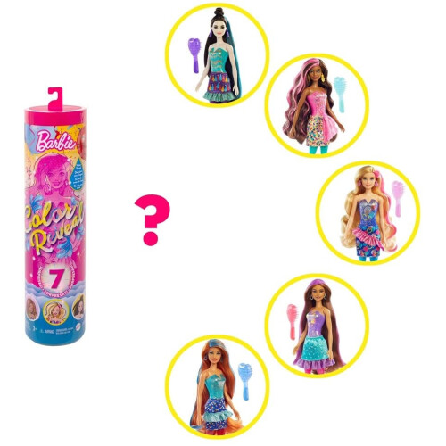 Barbie Colour Reveal Doll Party Series