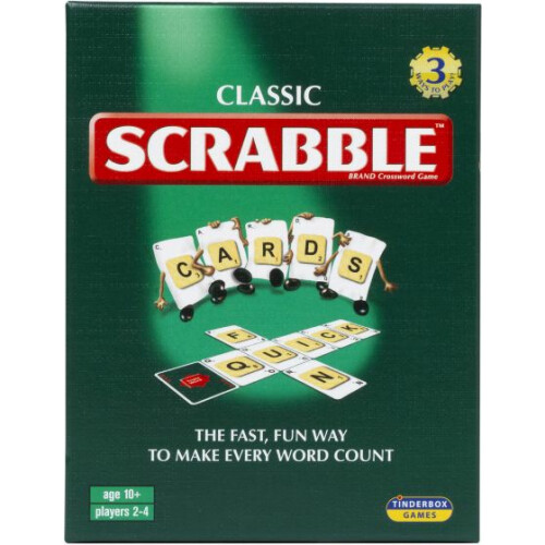 Classic Scrabble Cards