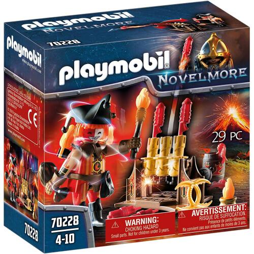 Playmobil 70228 Novelmore Burnham Raiders Fire Master