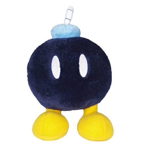 Super Mario 7.5 Inch Plush - Bob-omb