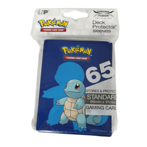 Pokemon TCG Deck Protector Sleeves - Squirtle