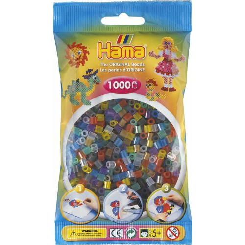 Hama Beads 207-53 Translucent Mix