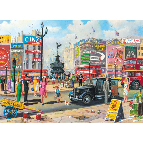 Gibsons Piccadilly 1000pc