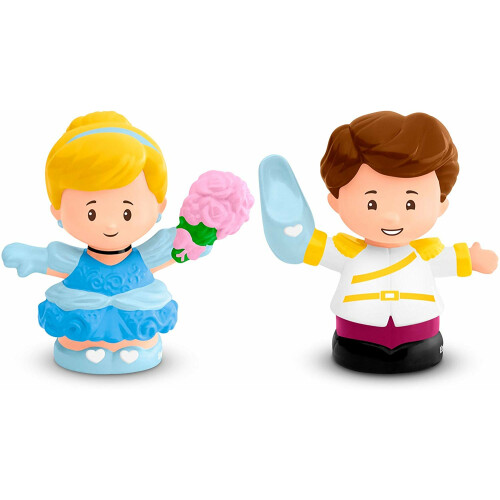 Fisher Price Little People - Disney Princess - Cinderella & Prince Charming