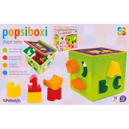 Popsiboxi Shape Sorter