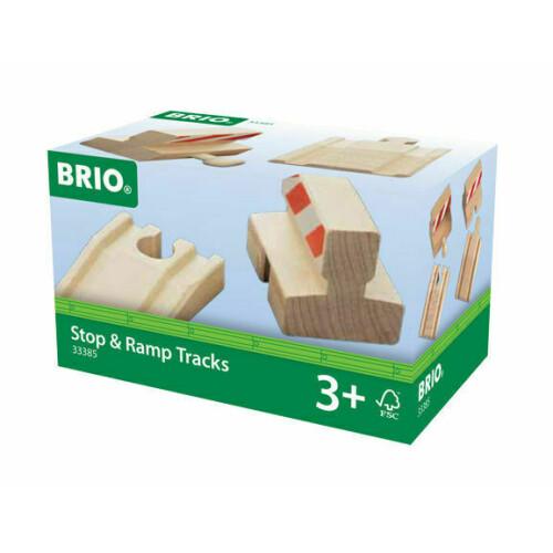 Brio 33385 Stop & Ramp Tracks