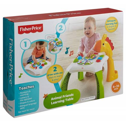 Fisher Price Animal Friends Learning Table