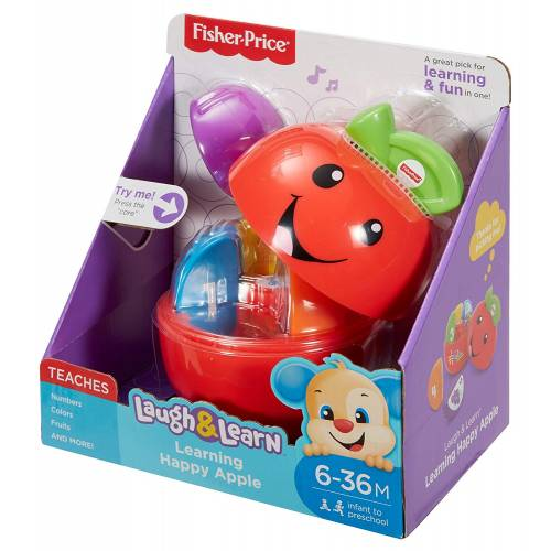 Fisher Price Laugh & Learn Learning Happy Apple