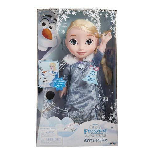 Frozen Elsa Singing Traditions Feature Doll