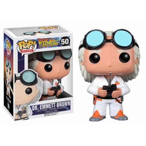 Funko Pop Vinyl Dr Emmett Brown 50