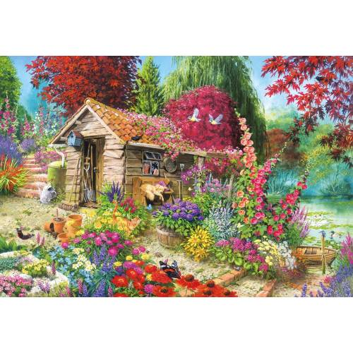 Gibsons A Dog's Life 500pc