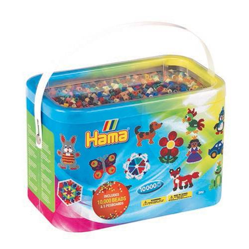 Hama Beads 202-67 10000 Beads and Pegboards