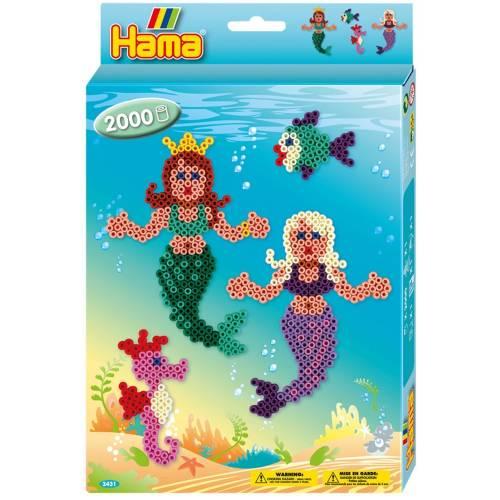 Hama Beads 3431 Mermaids
