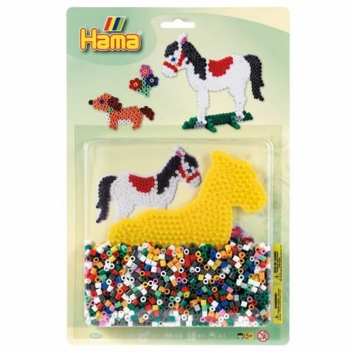 Hama Beads 4057 Pony & Dog