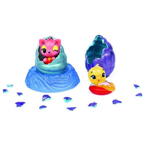 Hatchimals Colleggtibles - Mermal Magic - 2-Pack + Nest