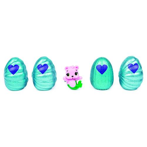 Hatchimals Colleggtibles - Mermal Magic - 4 Pack + Bonus