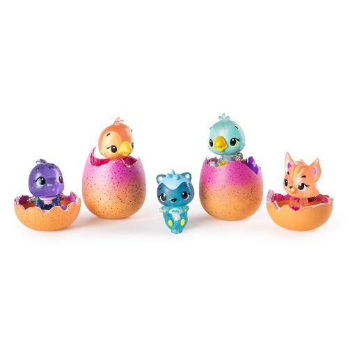 Hatchimals Colleggtibles - Season 4 - 4-Pack + Bonus