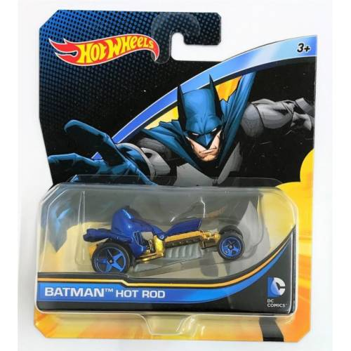Hot Wheels DC Comics Character Vehicles - Batman Hot Rod