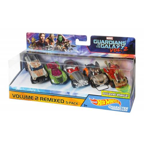 Hot Wheels Guardians of the Galaxy Volume 2 Remixed 5-Pack