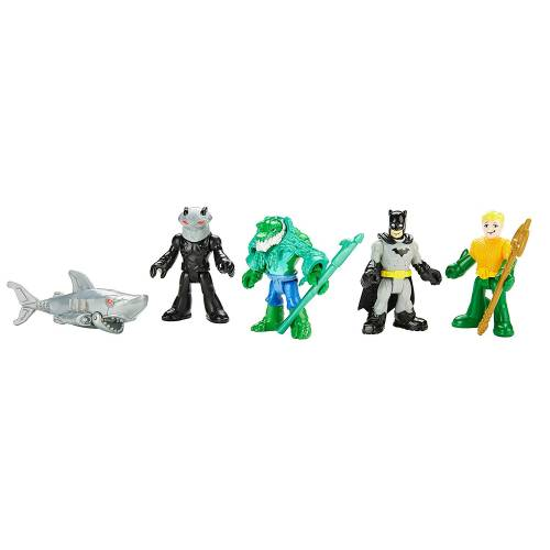 Imaginext DC Super Friends Heroes & Villains - Batman & Aquaman