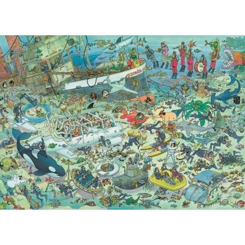 Jan Van Haasteren Deep Sea Fun 1000pc Jigsaw Puzzle