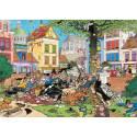 Jan Van Haasteren Get That Cat! 1000pc Jigsaw Puzzle
