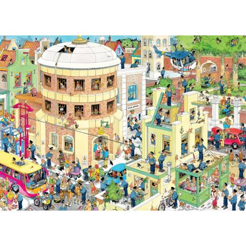 Jan Van Haasteren The Escape 1000pc Jigsaw Puzzle