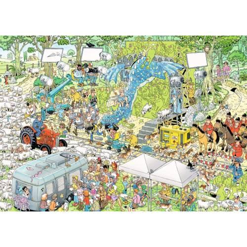 Jan Van Haasteren The Film Set 1000pc Jigsaw Puzzle