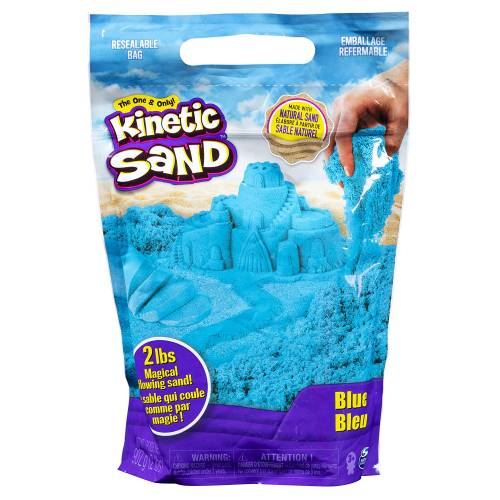 Kinetic Sand 2lb Resealable Bag - Blue