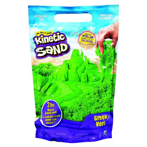 Kinetic Sand 2lb Resealable Bag - Green