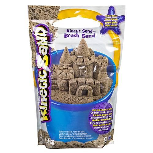 Kinetic Sand 3lb Resealable Bag - Beach Sand
