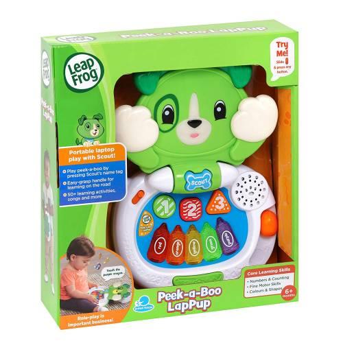 LeapFrog Peek-a-Boo LapPup - Scout