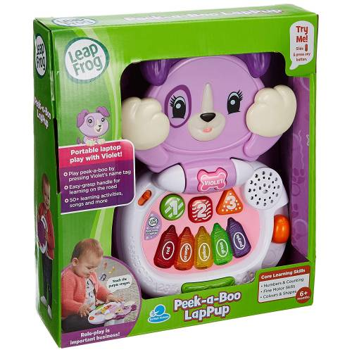 LeapFrog Peek-a-Boo LapPup - Violet