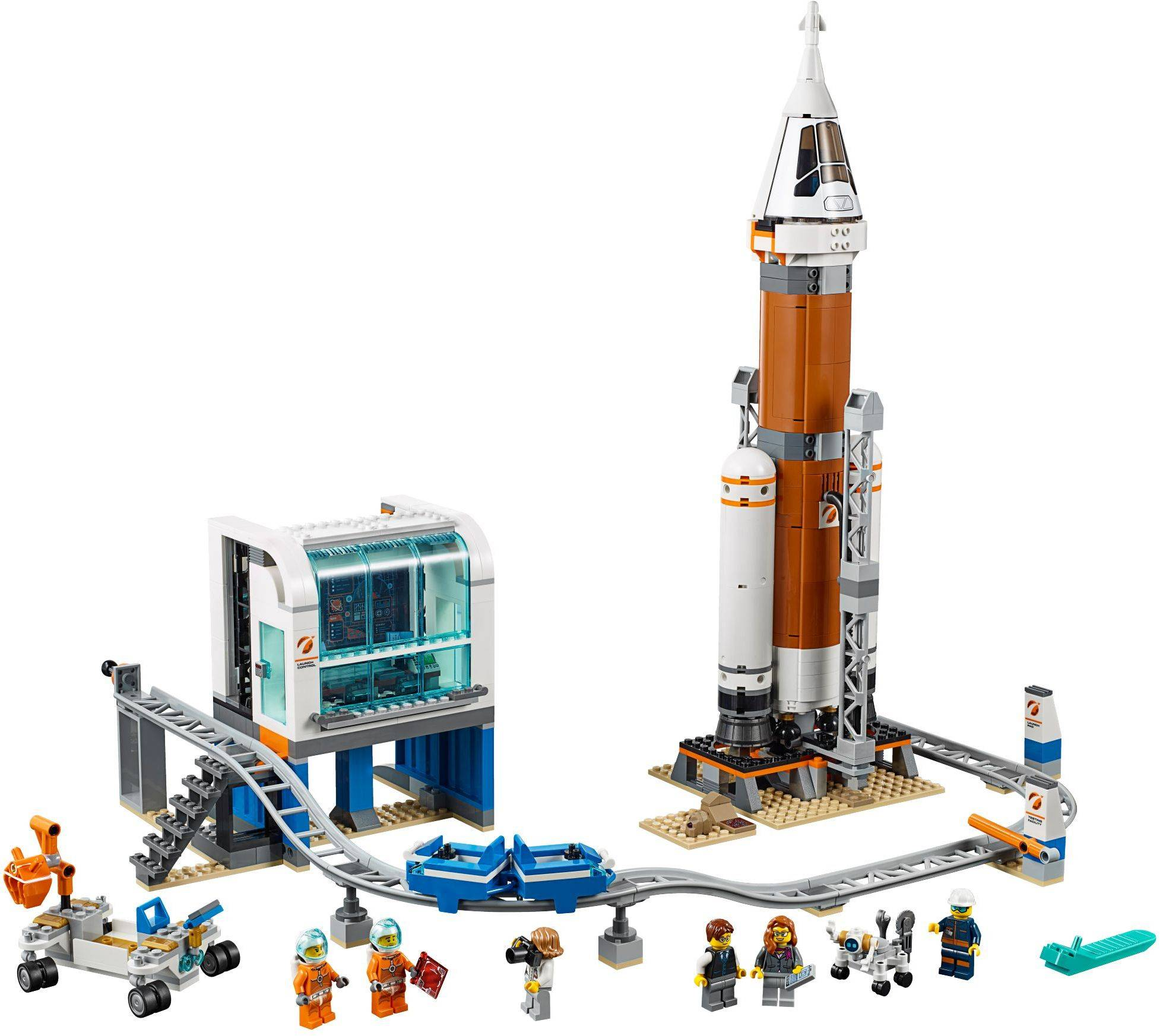 Lego 60228 City Deep Space Rocket and Launch Control ...