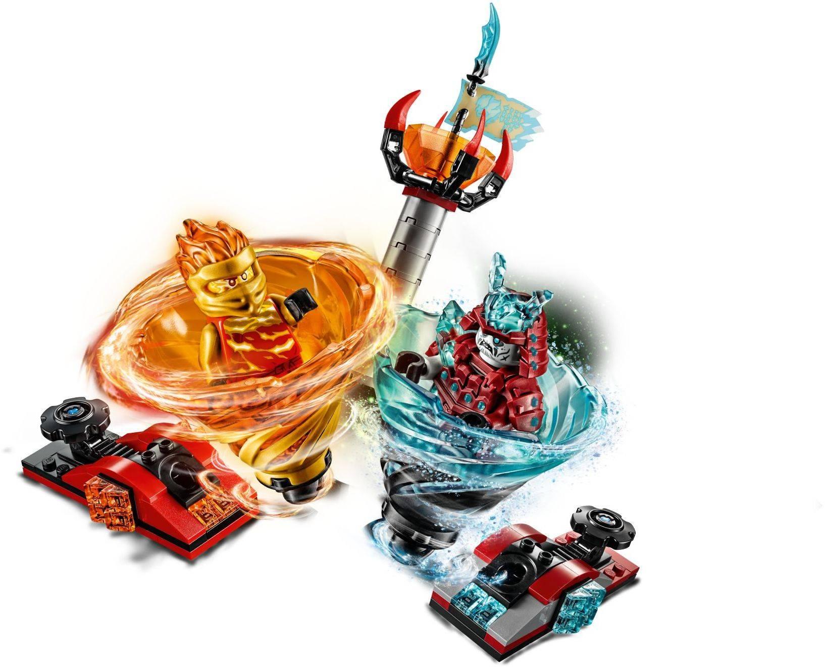 Lego 70684 Ninjago Spinjitzu Slam - Kai vs  Samurai
