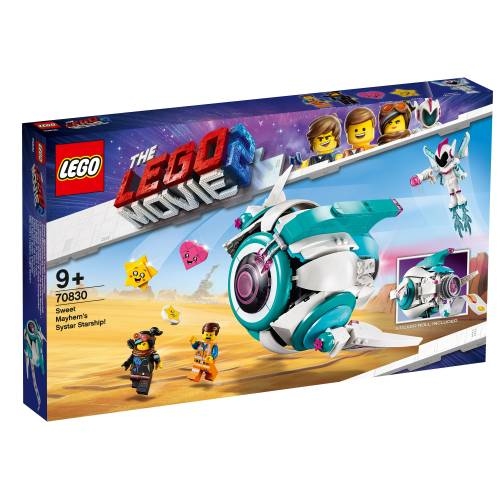 Lego 70830 Lego Movie 2 Sweet Mayhem's Systar Starship!