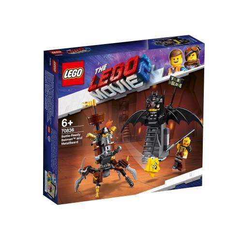 Lego 70836 Lego Movie 2 Battle-Ready Batman and MetalBeard
