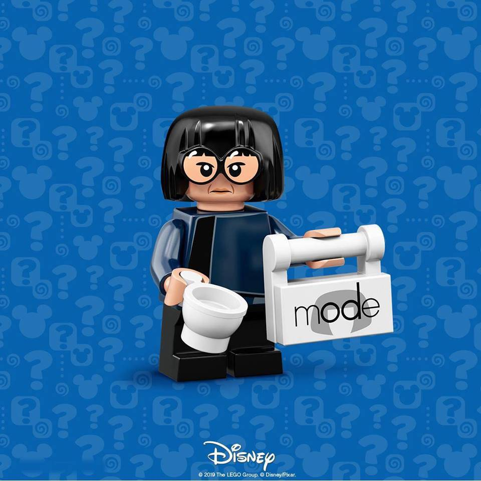 Lego Disney Minifigure Series 2 Edna Mode