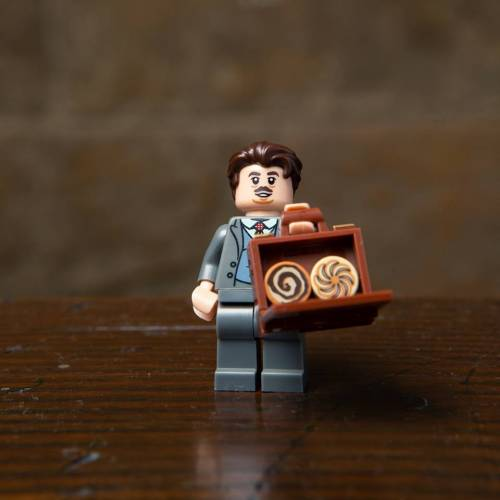 Lego Harry Potter Minifigure Fantastic Beasts Jacob Kowalski