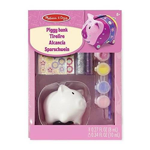 Melissa & Doug Decorate Your Own Piggy Bank